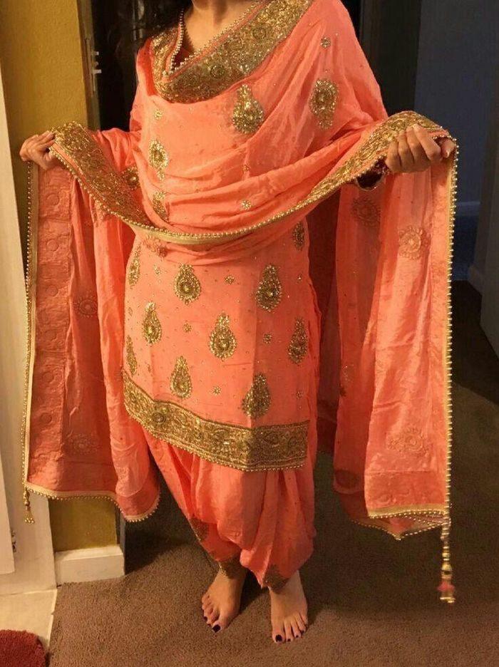 Patiala Bridal Salwar Suit