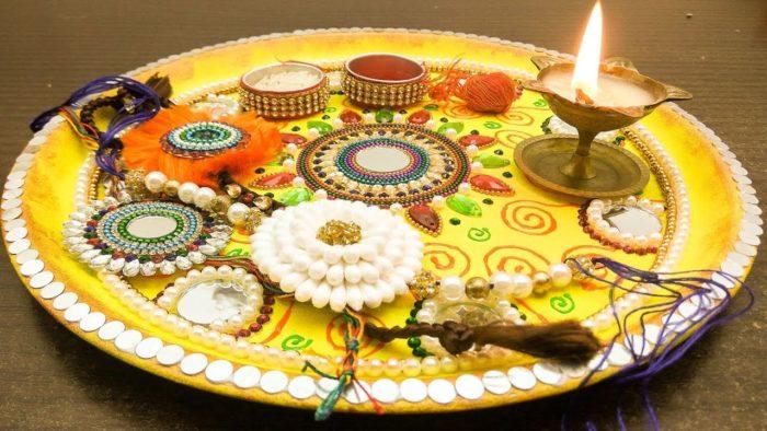 Rakhsha Bandhan Thali Decoration