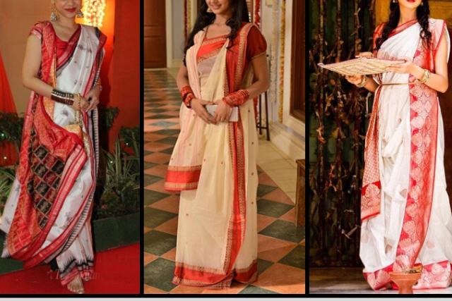 Bengali Style Saree Draping