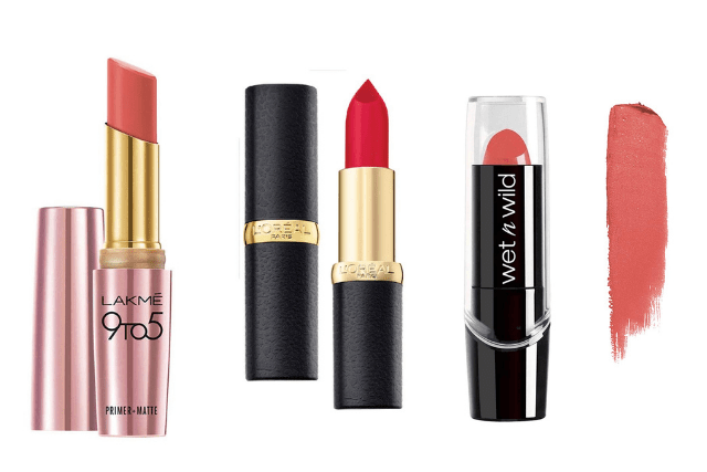 A Nude and a Bold Lip Color